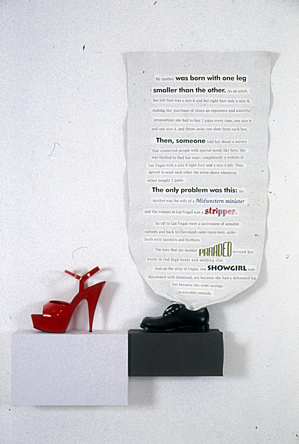 Shoe Story, 1993
