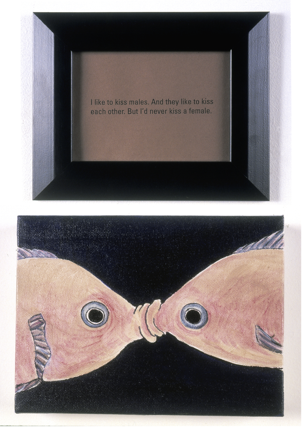 Sex Lives Of Animals: Kissing Gourami, 1995