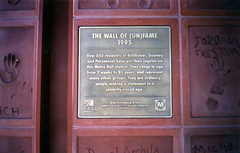 The Wall Of (Un)Fame, 1995