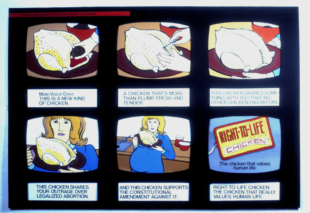 Right To Life Chicken, 1982
