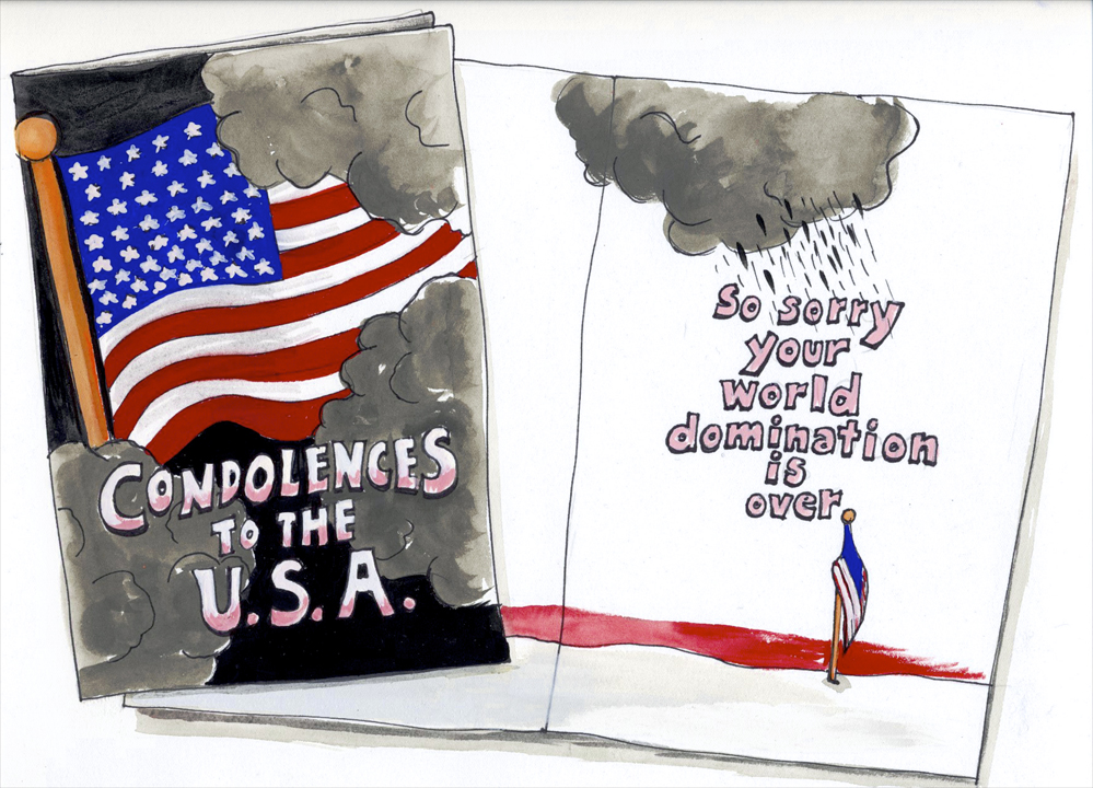 Condolences to the USA 2008