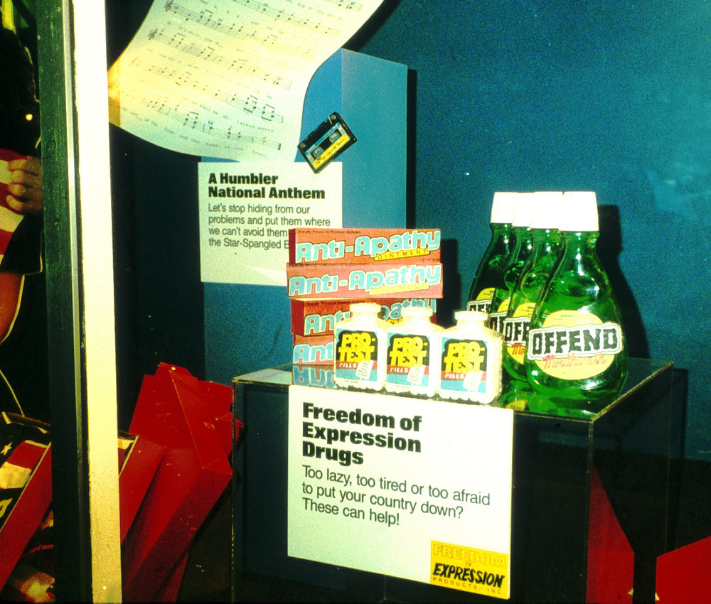 Freedom of Expression Products 1989