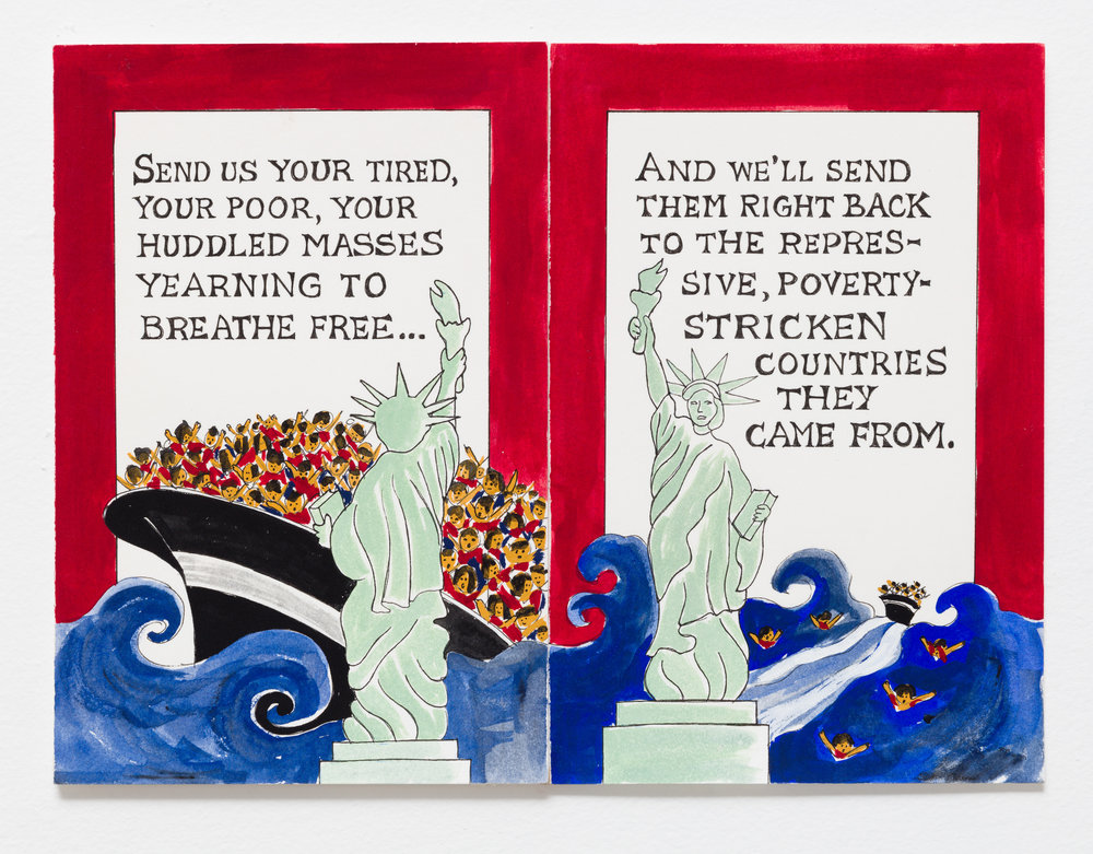 Send Us Your Tired Your Poor, And We'll Send Them Back 1992