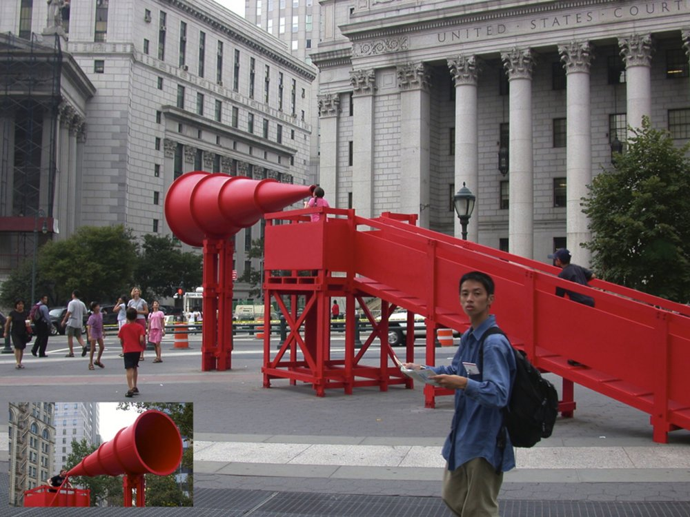 Freedom of Expression National Monument, NY 2004