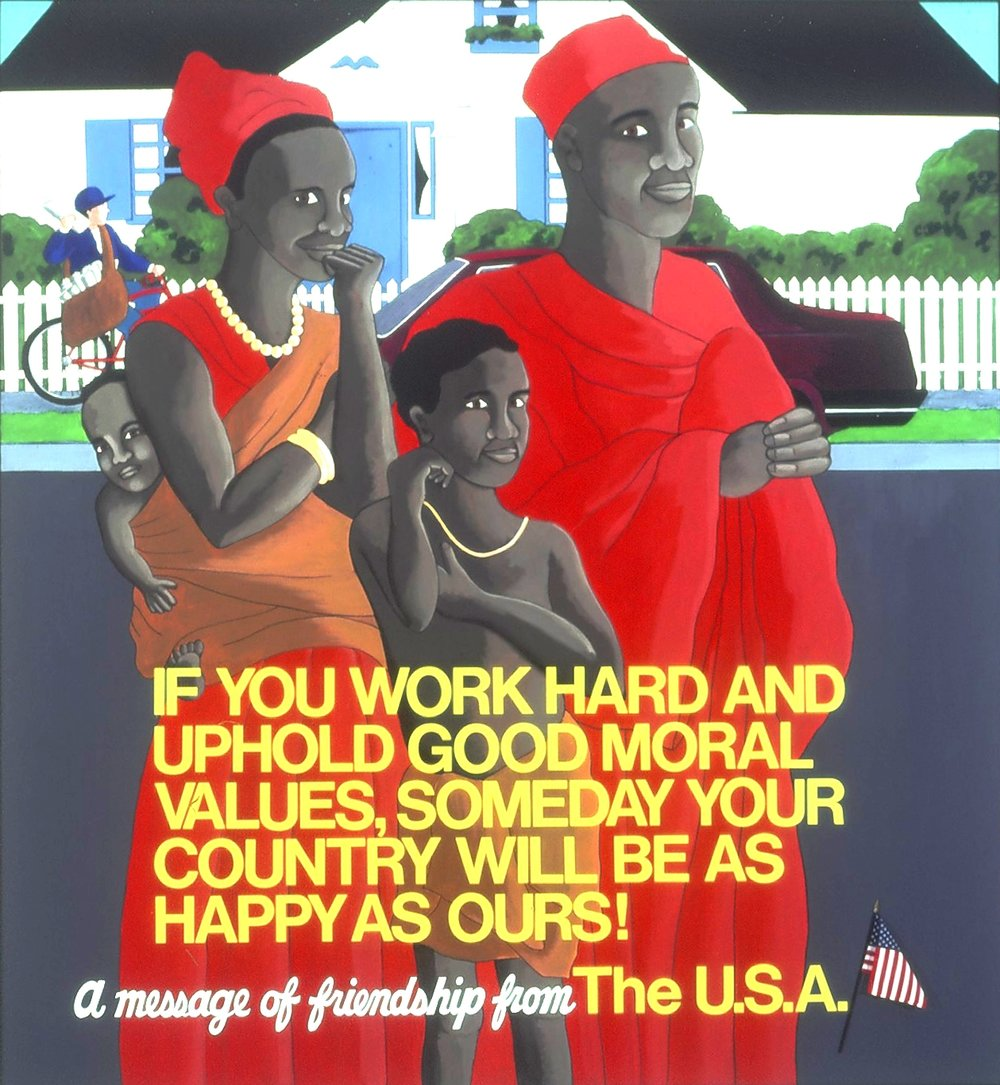 A Message Of Friendship From The USA 1987