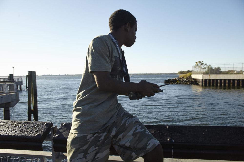 Laurenzo Reed navigating the seas