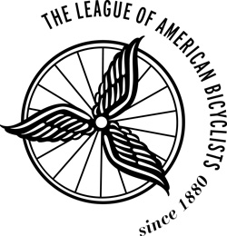 Official member and supporter of The League of American Bicyclists