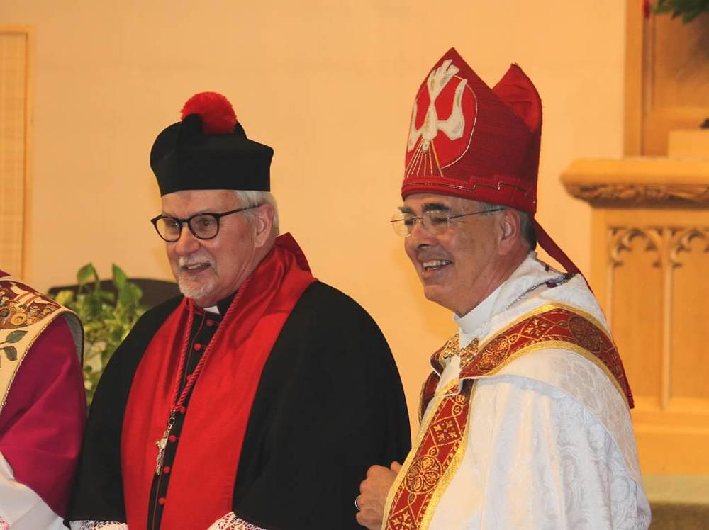 The Rev. Canon Samuel Lundy and the Right. Rev. Douglas Marlow