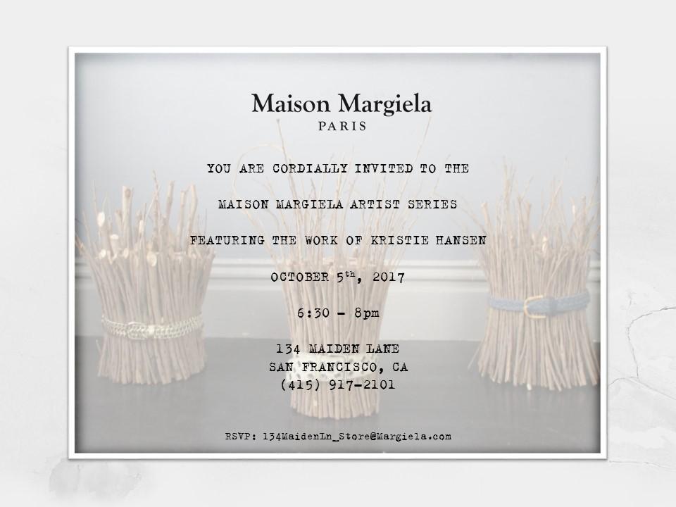 Artist Series, Artist 1   Maison Margiela, San Francisco