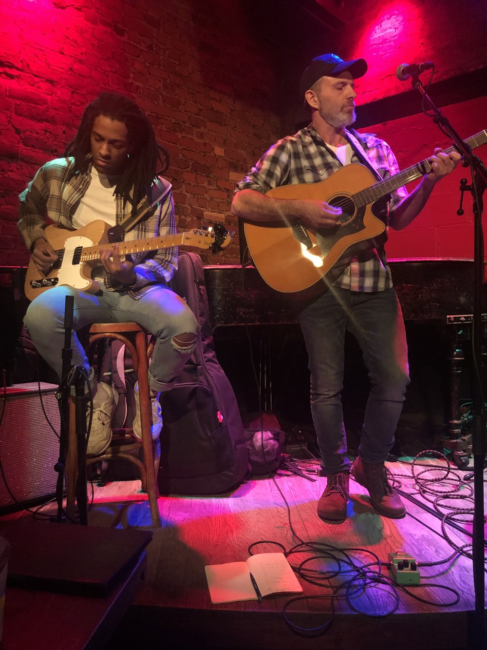 May 21 Rockwood Music Hall.New York, NY. 7PM - With guitarist Franklin Rankin
