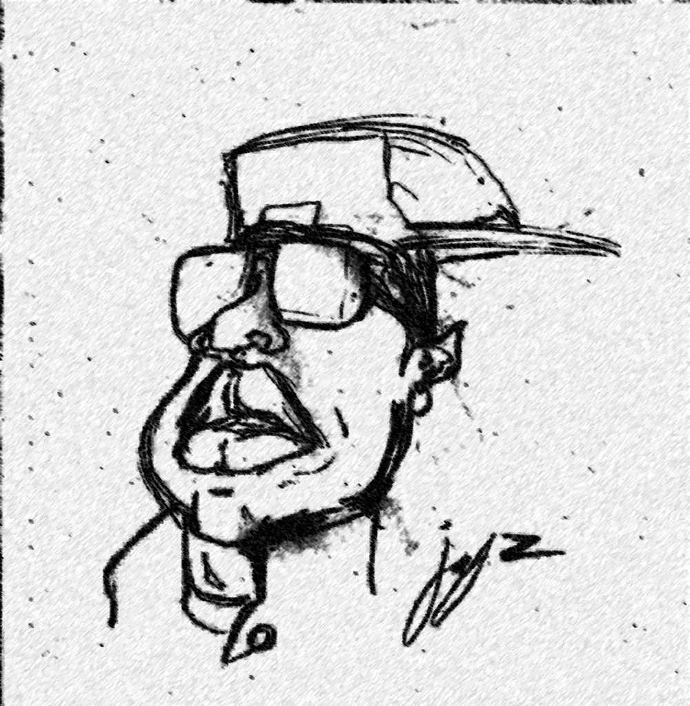 Sketch by Najee Person