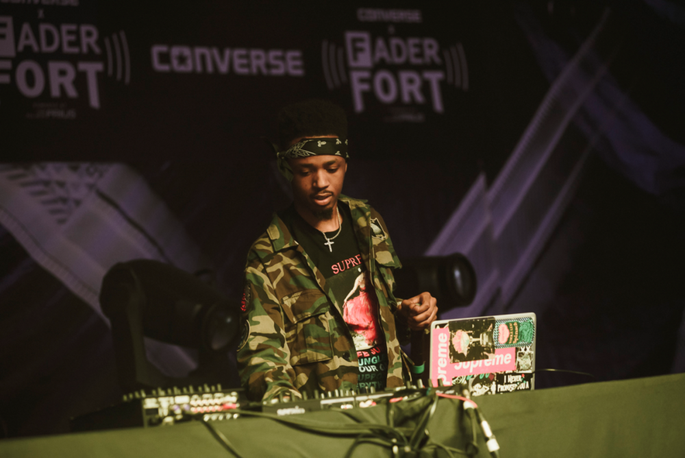 Metro Boomin performs at The Fader Fort presented by Converse in Austin, T.X. (Photo credit: Ryan Muir/The FADER)