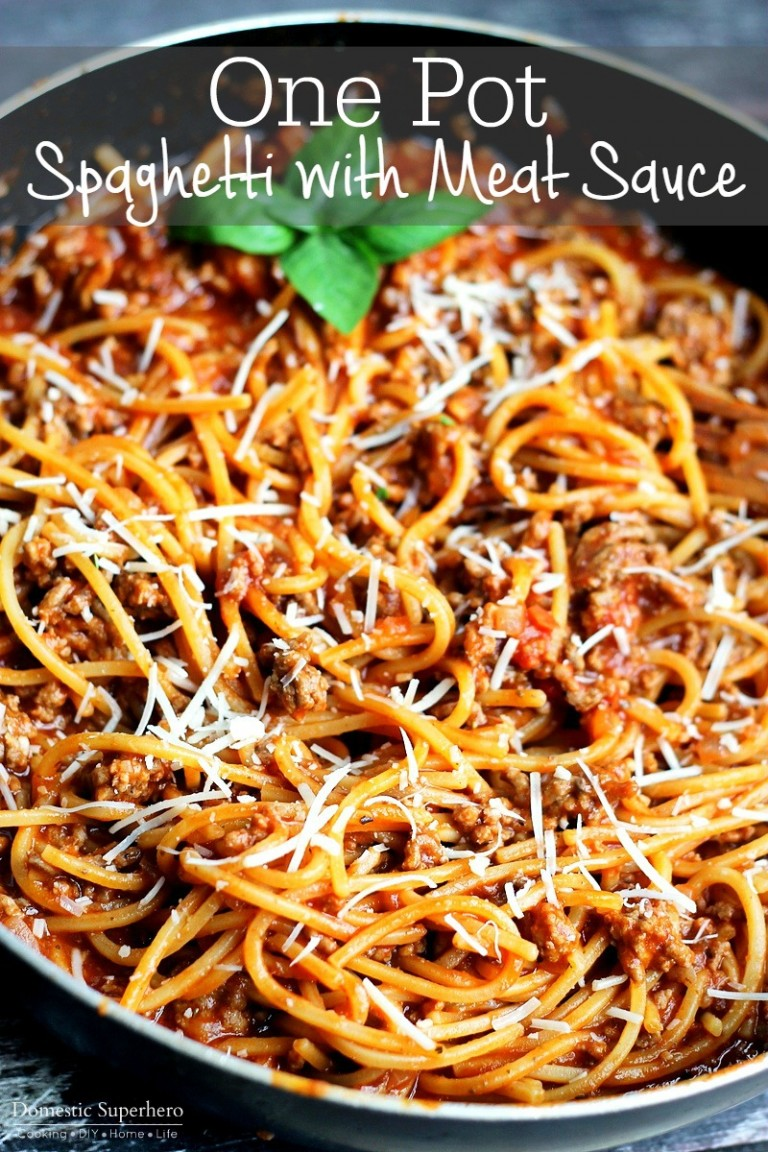 This awesome recipe makes something as simple as making pasta, even easier, and even more delicious! Click here for recipe!