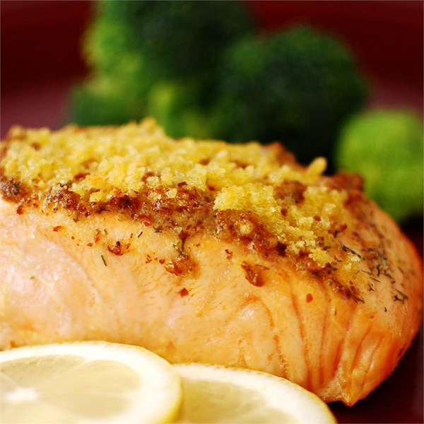 You don't have to go out to eat well. This delicious salmon is restaurant ready, from home. Click here for recipe!