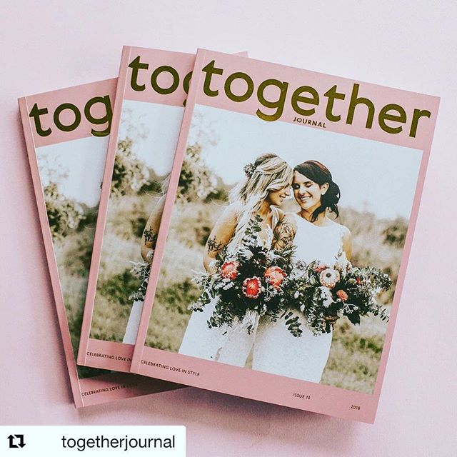 Choosing a gorgeous magazine cover that reflects LOVE over sexual orientation makes me say hell yeah Bravo @togetherjournal 💓