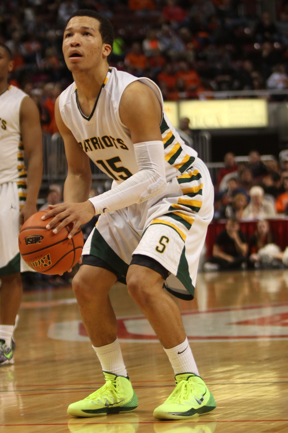 Jalen Brunson at the 2014 IHSA final four