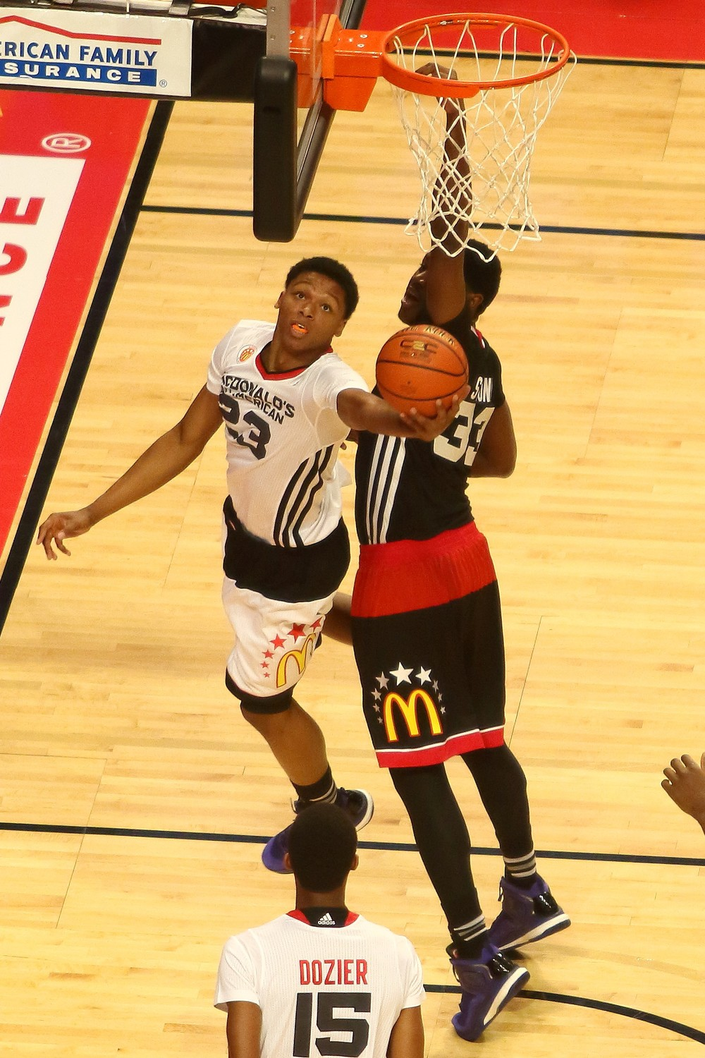 Ivan Rabb at the 2015 McDonald's All-American game