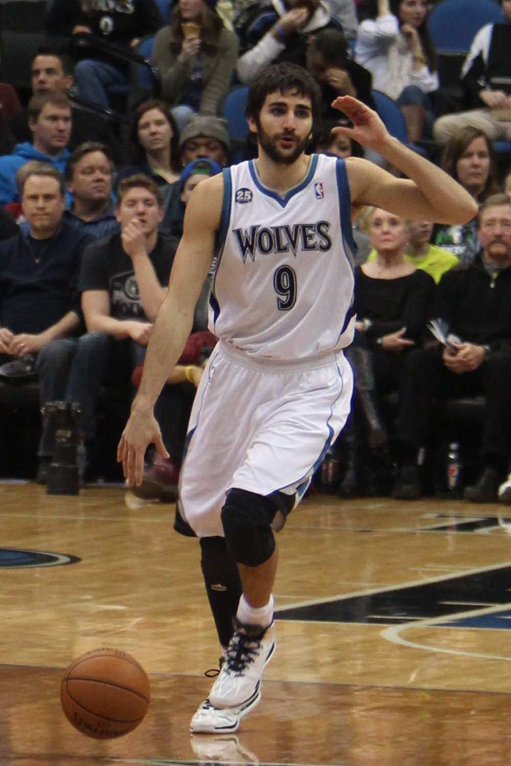 Ricky Rubio on New Year's Day 2014