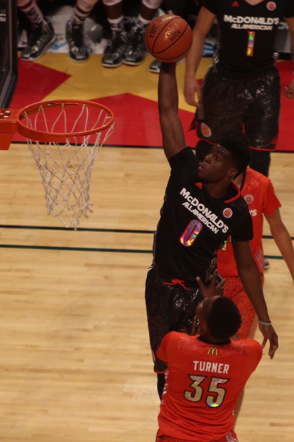Emmanuel Mudiay in the 2014 McDonald's All-American Game