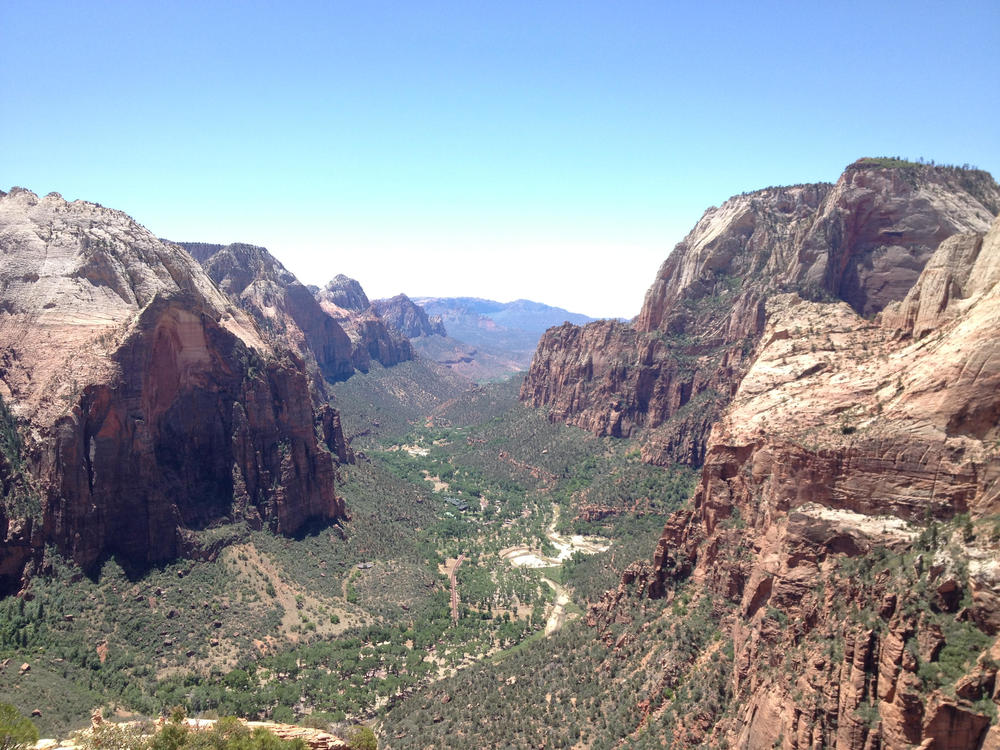 View of Zion Canyon from Angel's Landing - Zion National Park, Utah (from my 2013 trip)