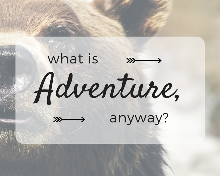 What is Adventure, Anyway?