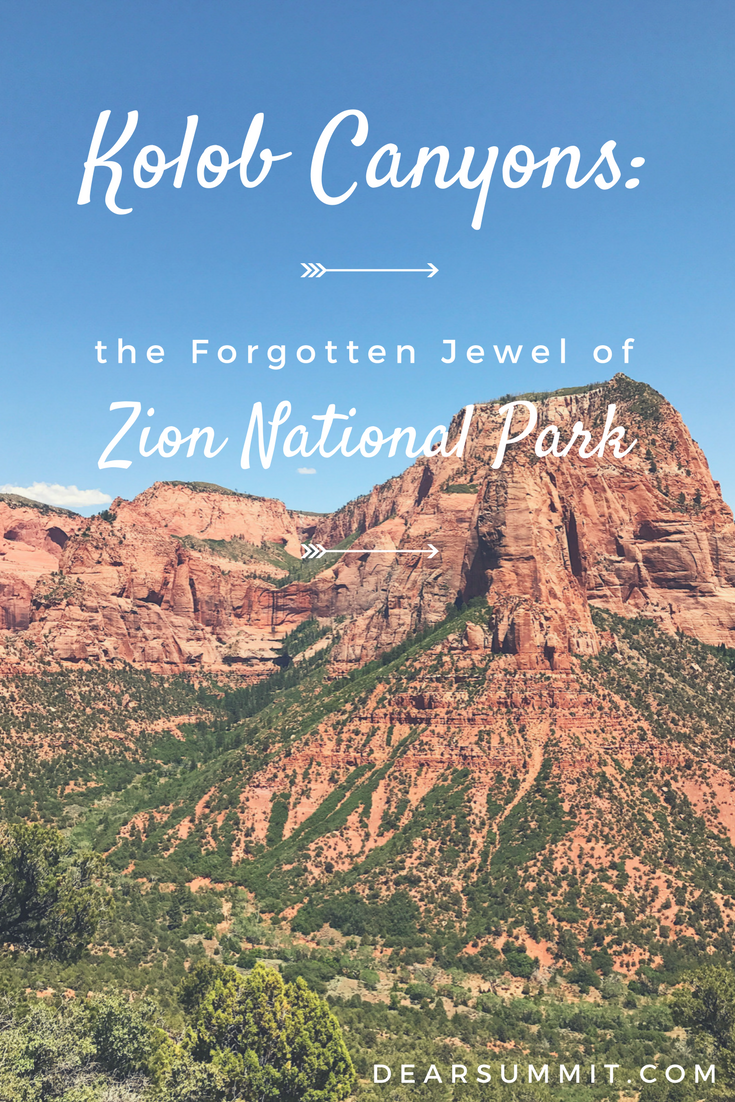 Kolob Canyons: Forgotten Jewel of Zion National Park - perfect for an afternoon stop along highway 15