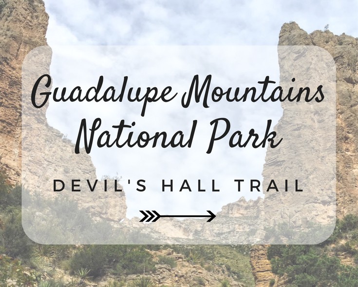 Guadalupe Mountains National Park: Devils Hall Trail