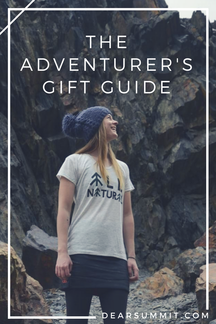 The Adventurer's Gift Guide - conscious gifts for adventure seekers and nature lovers