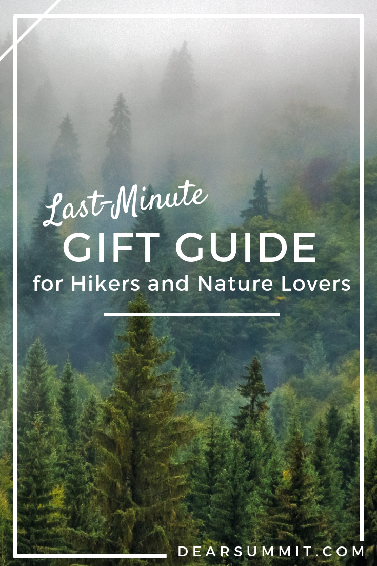 Last-Minute Gift Guide for Hikers and Nature Lovers - the Dear Summit Blog