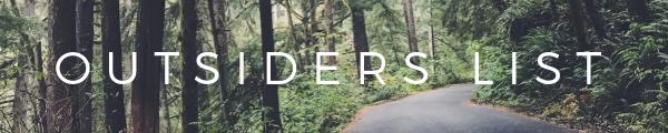 Outsiders List Banner