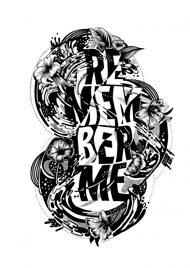 Art by Gemma O'Brien that reads Remember Me