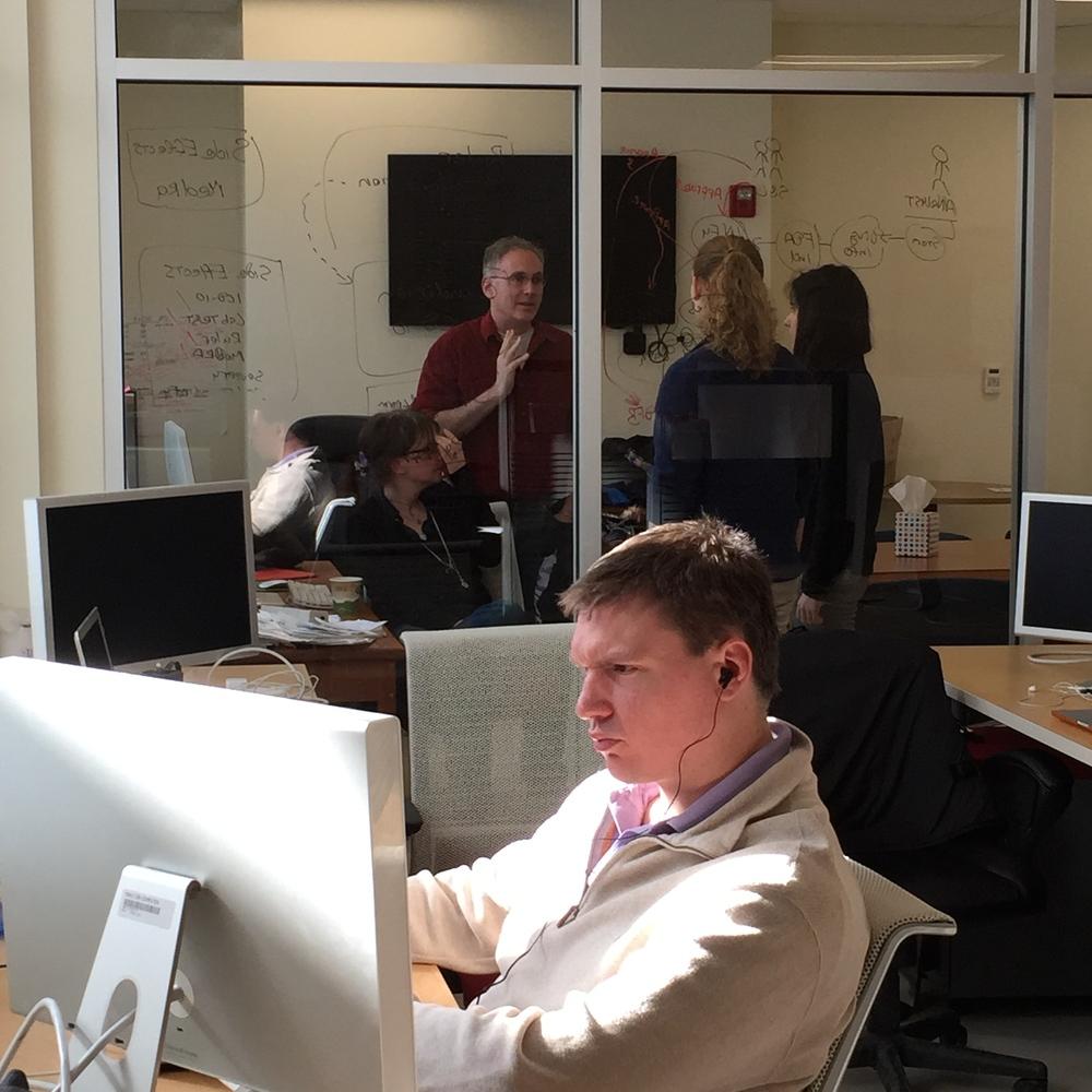 Informulary team at work
