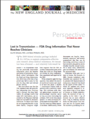 Lost in Transmission - NEJM (Oct 2009) PIC.png