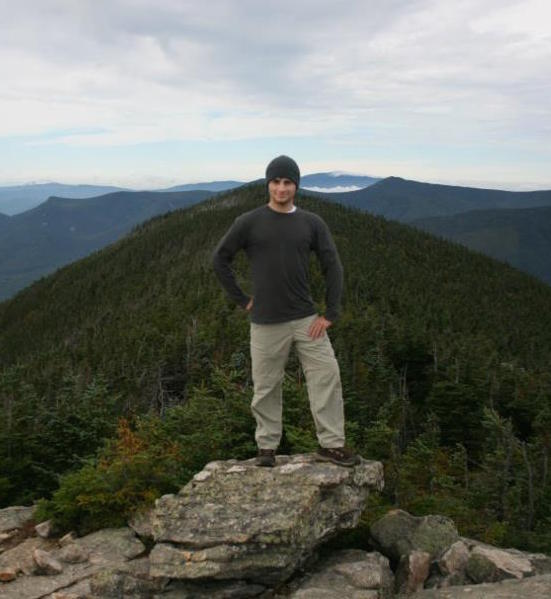 Brian HIKING THE WHITE MOUNTAINS DURING FIRST YEAR TRIPS AT DARTMOUTH