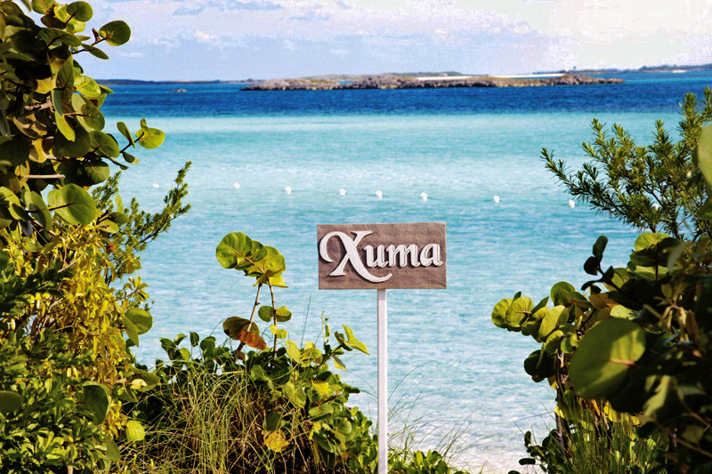 Xuma Restaurant, Highbourne Cay Exuma.  Lunch with a view!