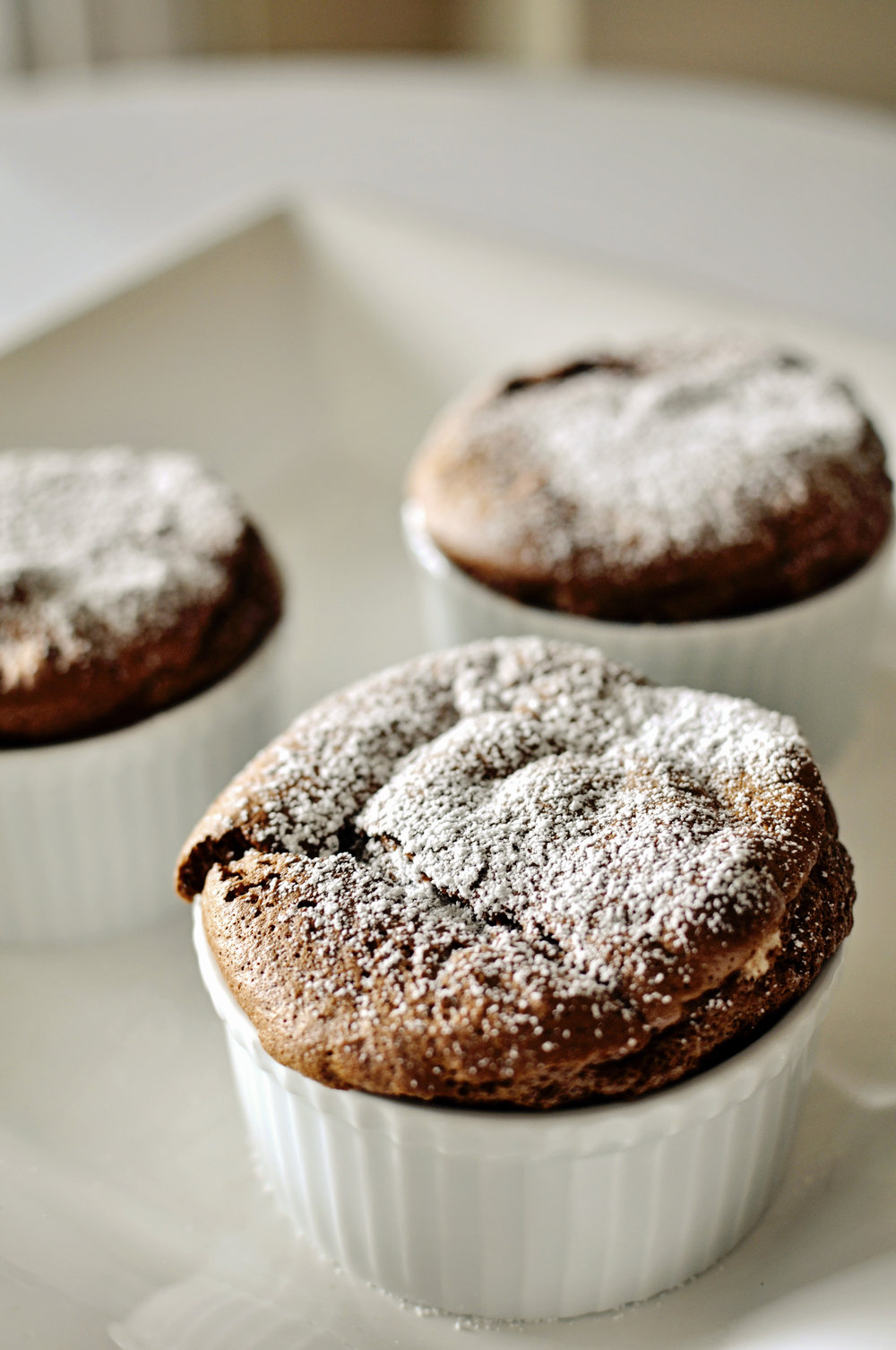 Rich Chocolate Souffle