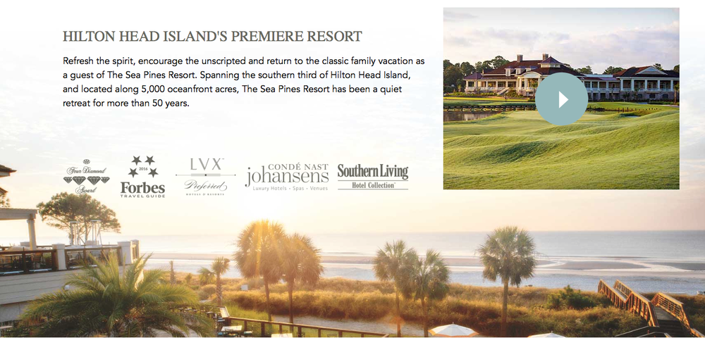 Check out this   video   featuring all of the many wonderful activities at   Sea Pines Resort  !