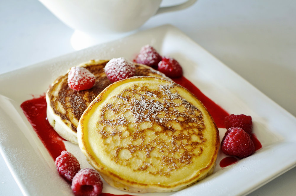 Lemon Souffle' Pancakes -  Click here for recipe!
