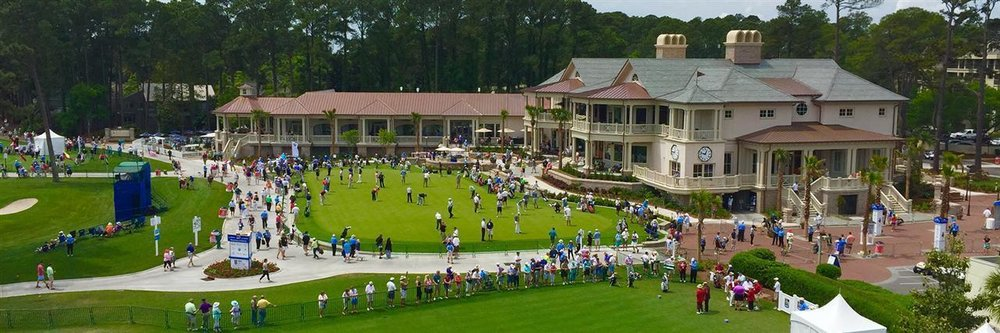 It's beginning to look a lot like Heritage! Heritage Week 2018 Harbour Town Golf Links, Sea Pines Resort.