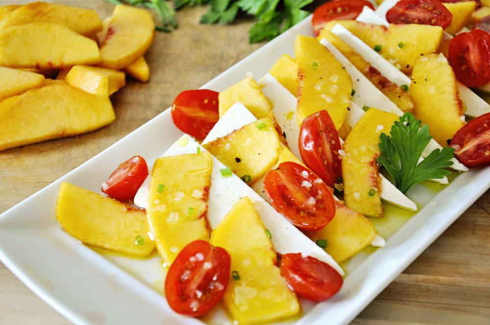 Peach Ricotta Salata
