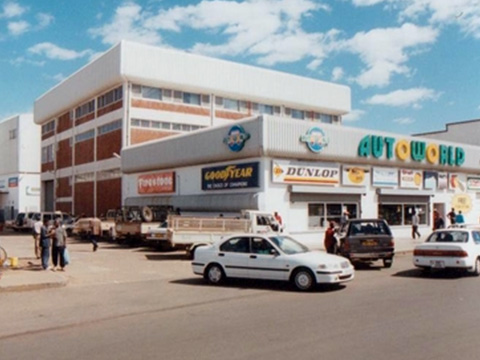 Autoworld head office in Lusaka