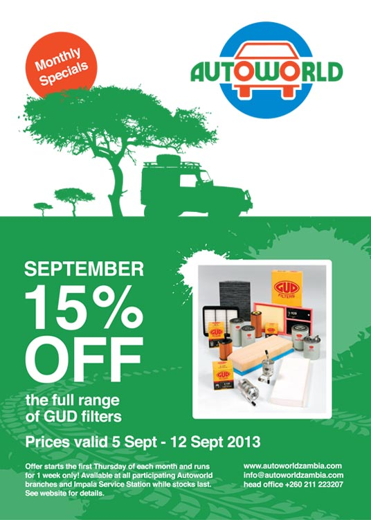 September Monthly Special