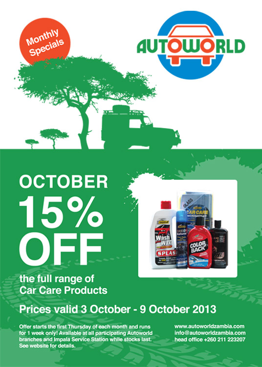 October Monthly Special