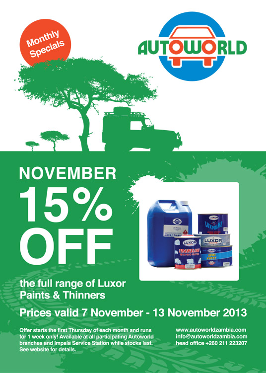 November Monthly Special