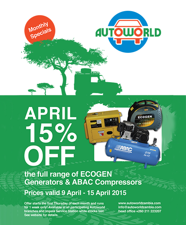 April 2015 offer ECOGEN generators