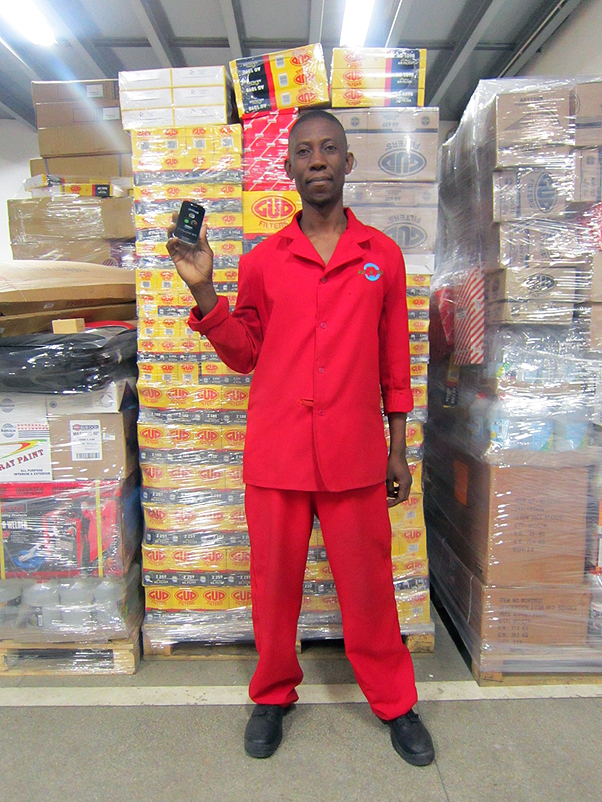 Mambwe Chanda, Warehouse competition winner