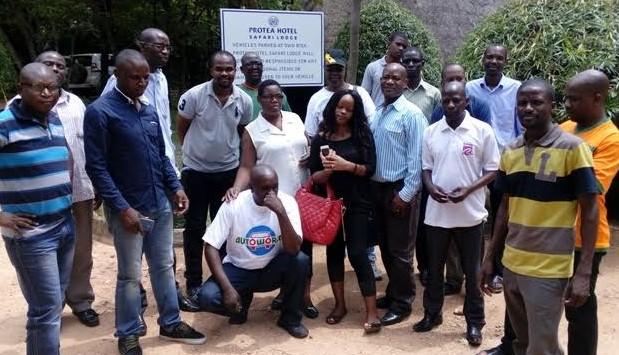 Accounts Dept staff at Protea Safari Lodge