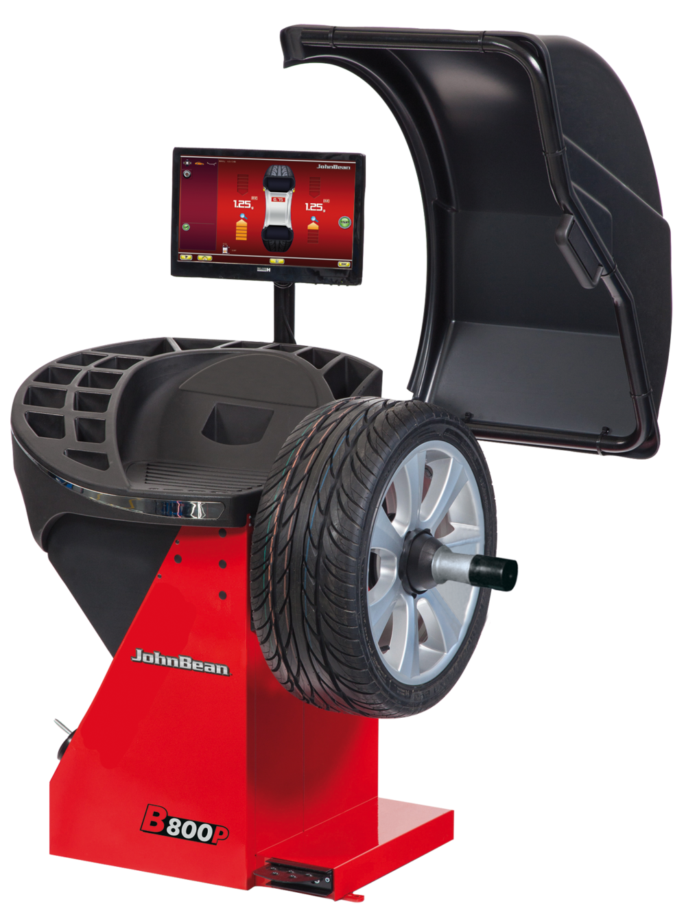 The John Bean B800P Wheel Balancer