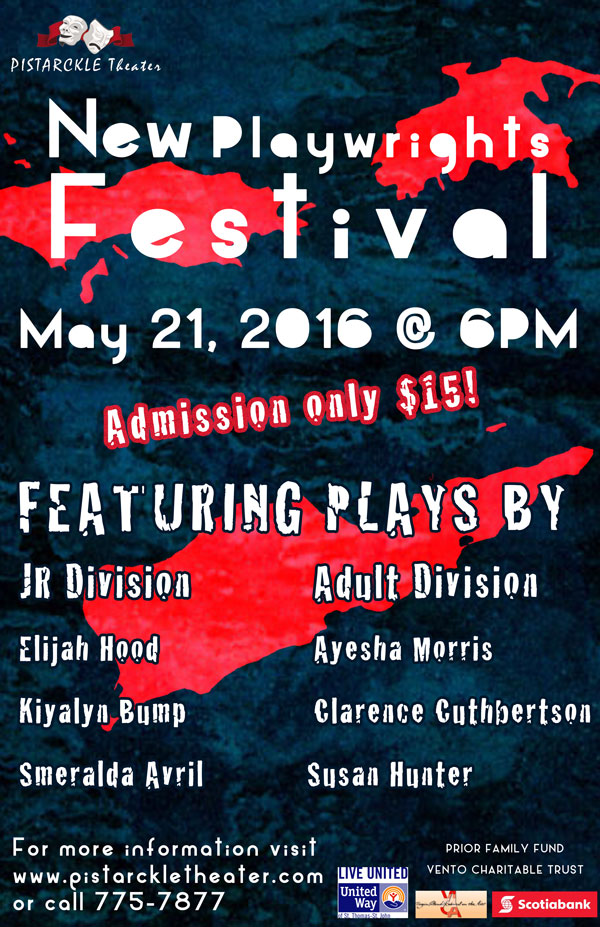 New Playwrights Festival at Pistarckle Theater - Live Entertainment on St. Thomas USVI