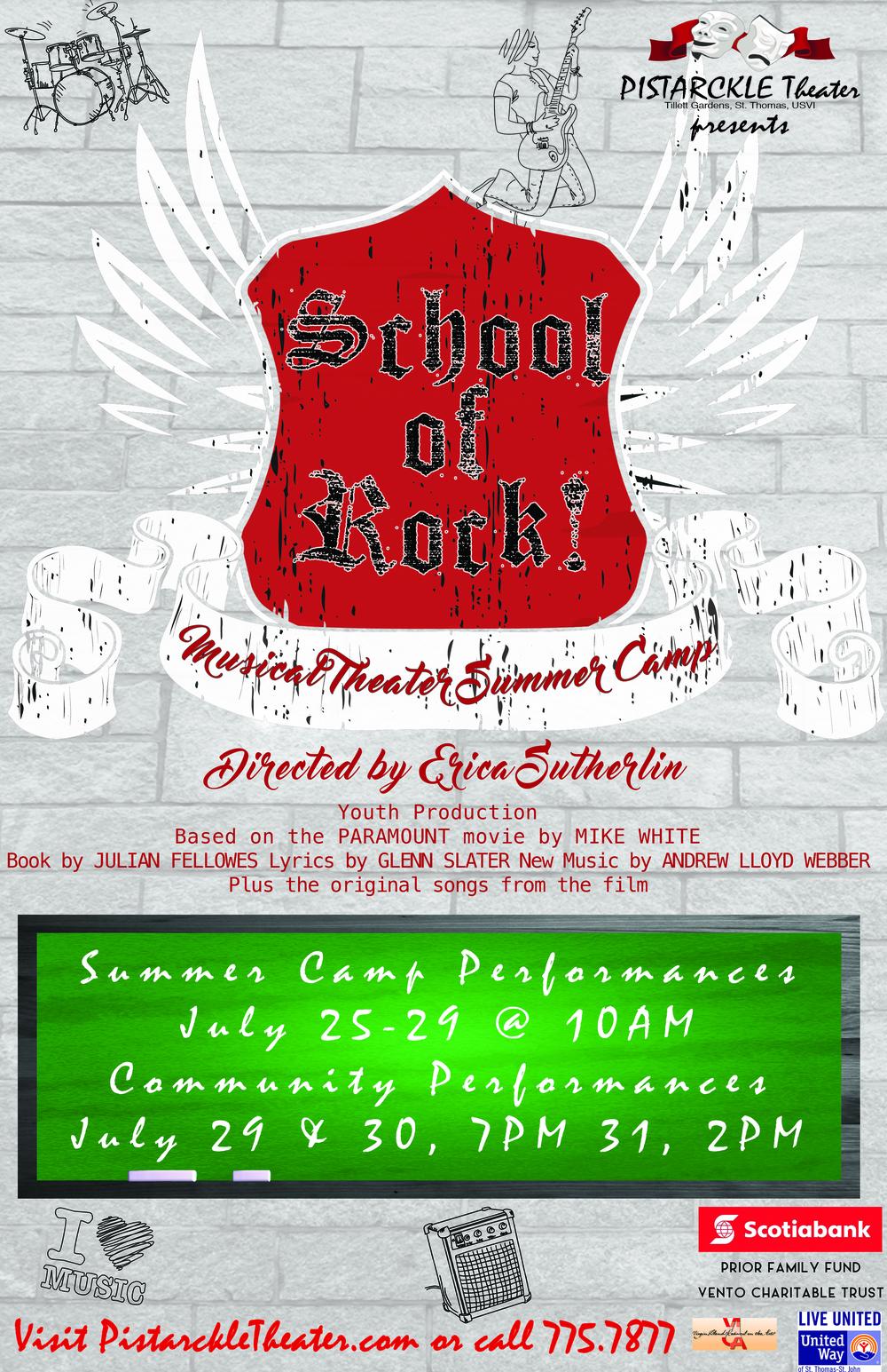 School of Rock - Live Entertainment on St. Thomas, USVI